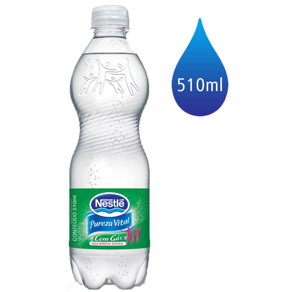 Água Pureza Vital com gás