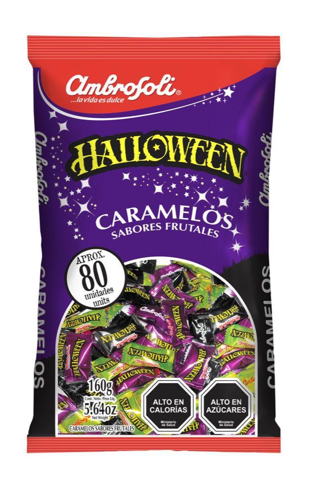 Caramelos Halloween sabores frutales