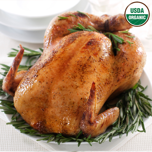Organic whole chicken by bell & evans 3 LB