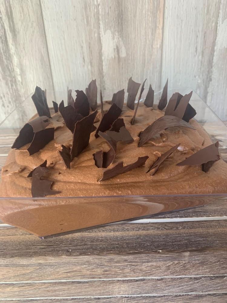 Mousse de chocolate Fuente acrílica para 6 personas.