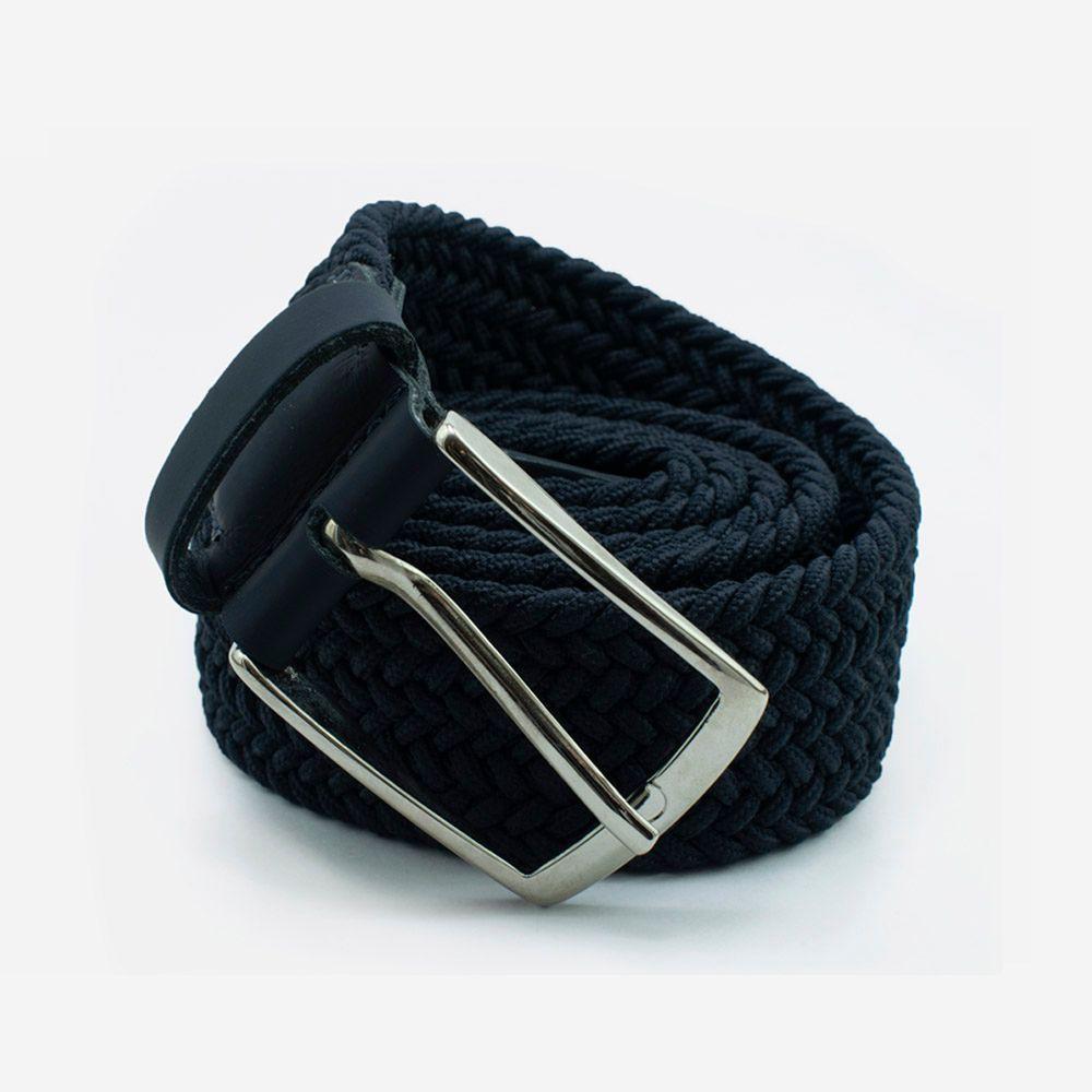 Cinturón elástico azul 3.5x105cm
