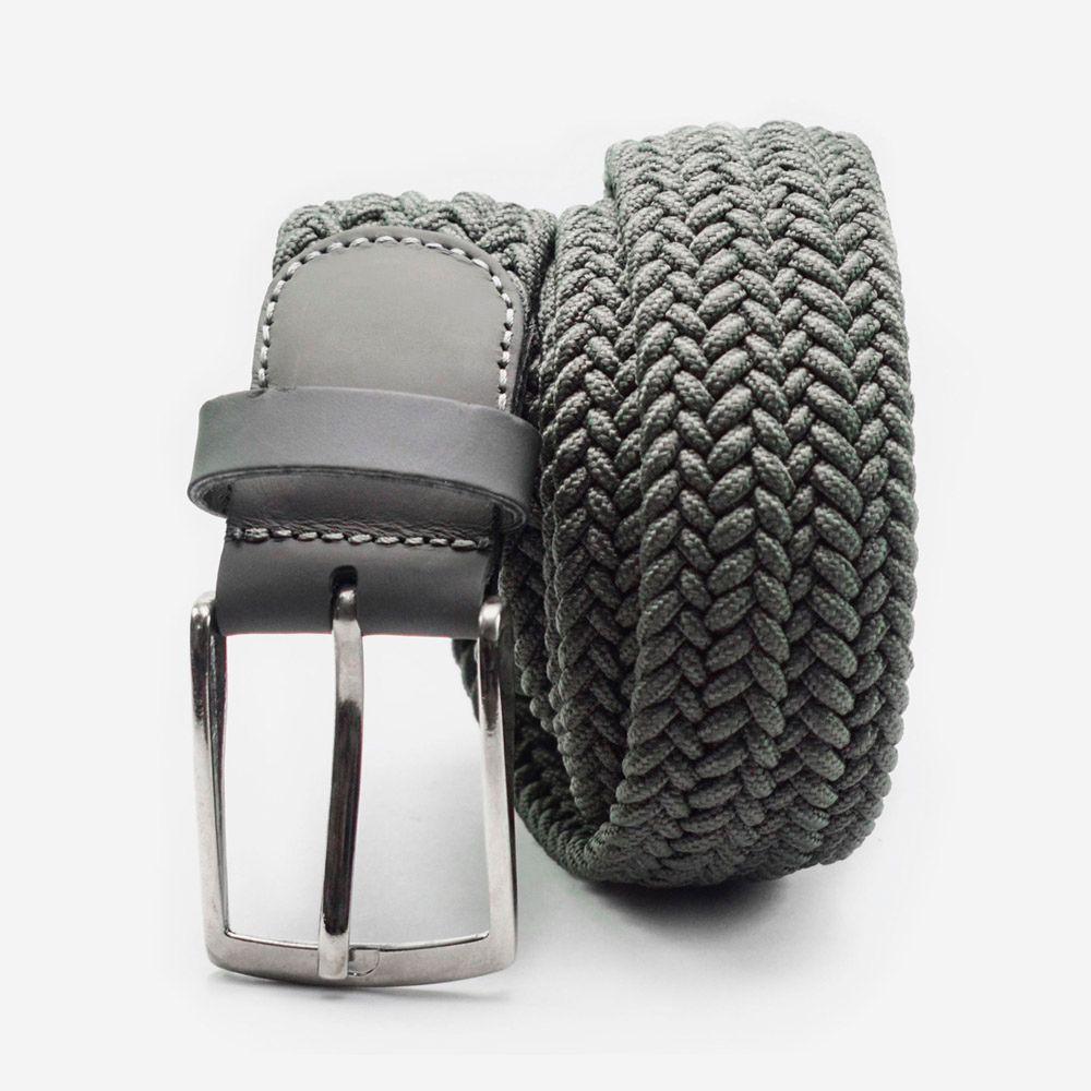 Cinturón elástico gris 3.5x105cm