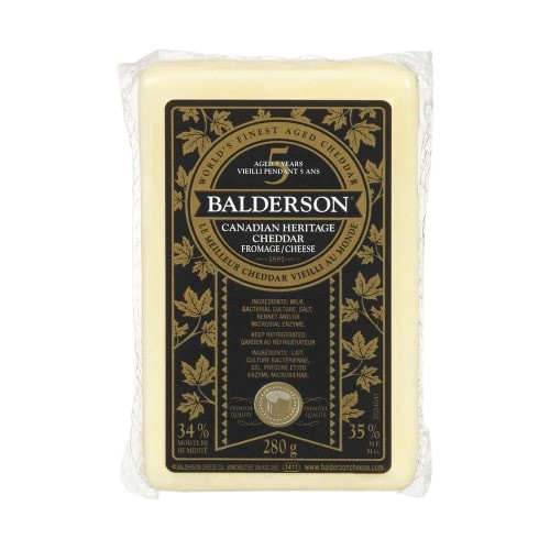 Canadian heritage cheddar cheese
