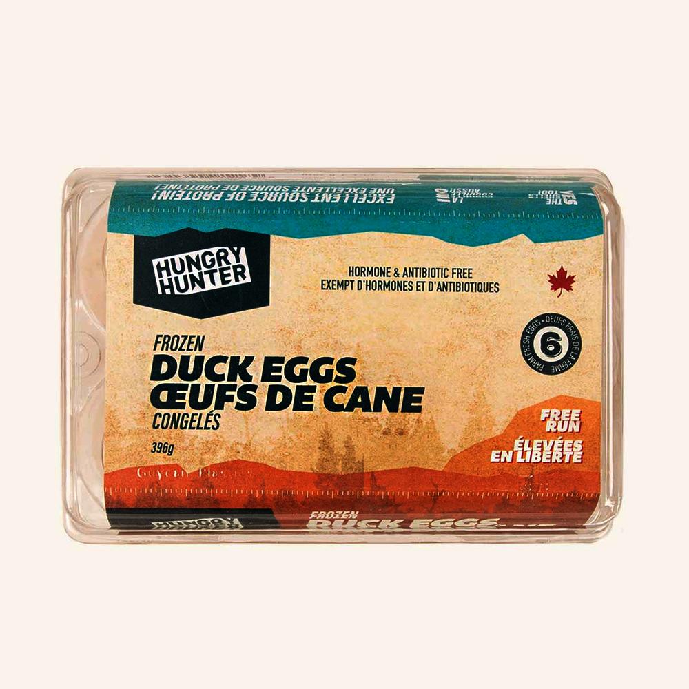 Frozen Duck Eggs 6 Count