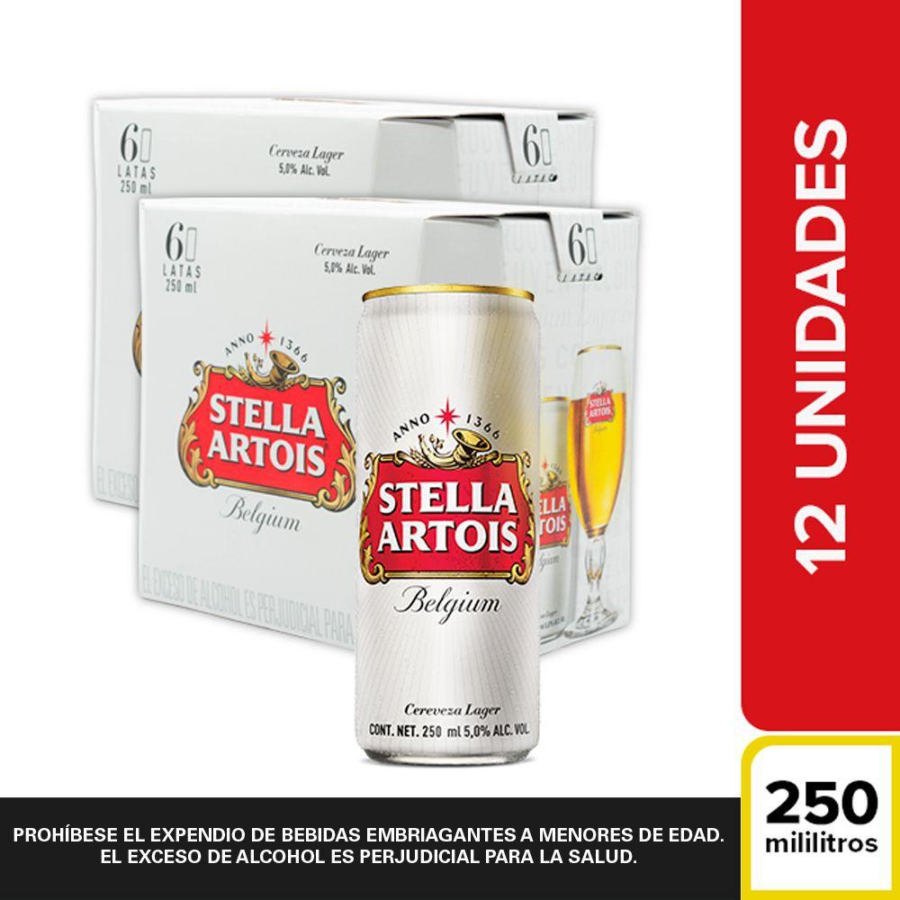 Pack cerveza 12 x 250 ml