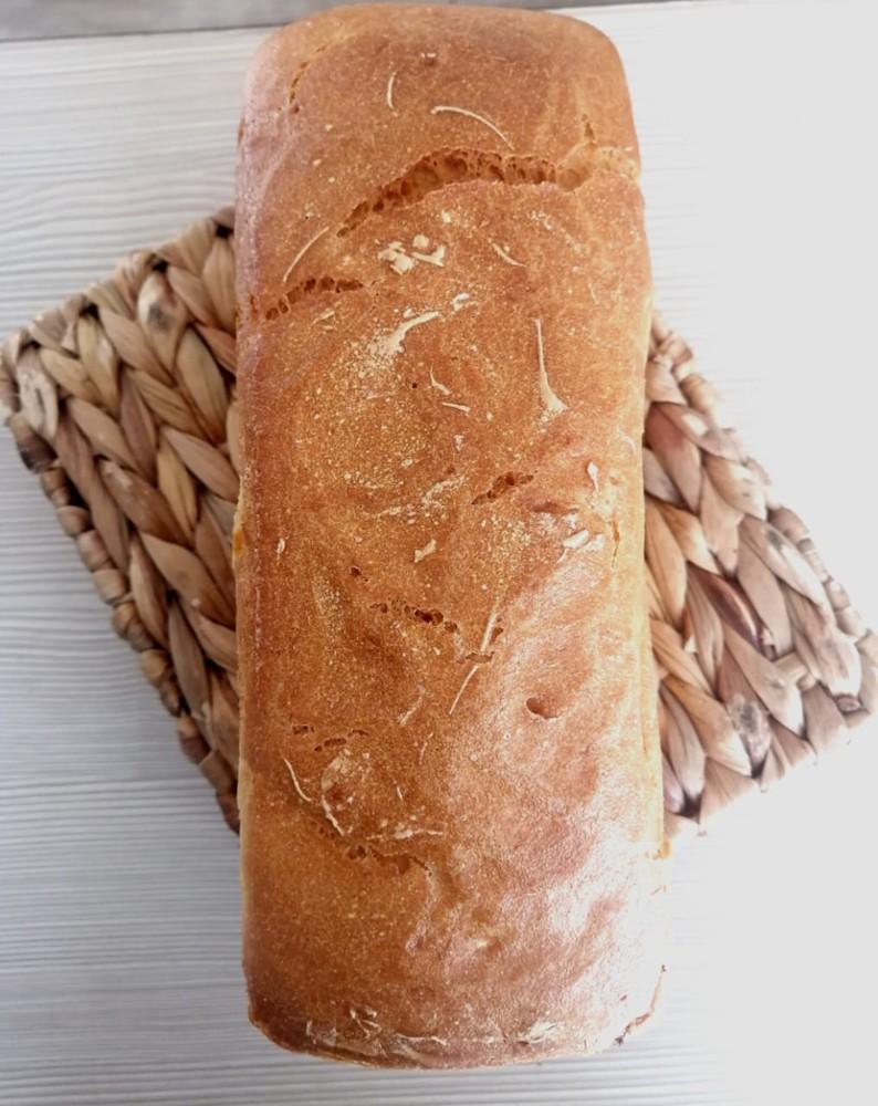 Pan molde blanco, Libre de Gluten Molde 900 grs