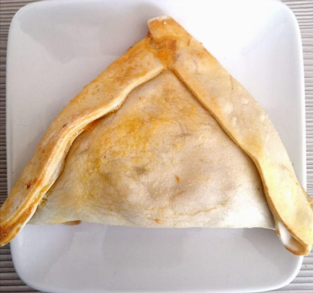 Empanada champiñón-queso, Libre de Gluten empanada de 200 grs aprox