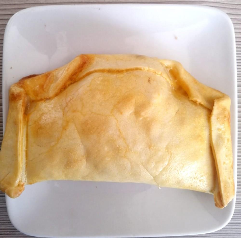 Empanada de camarón, Libre de Gluten empanada de 200 grs aprox