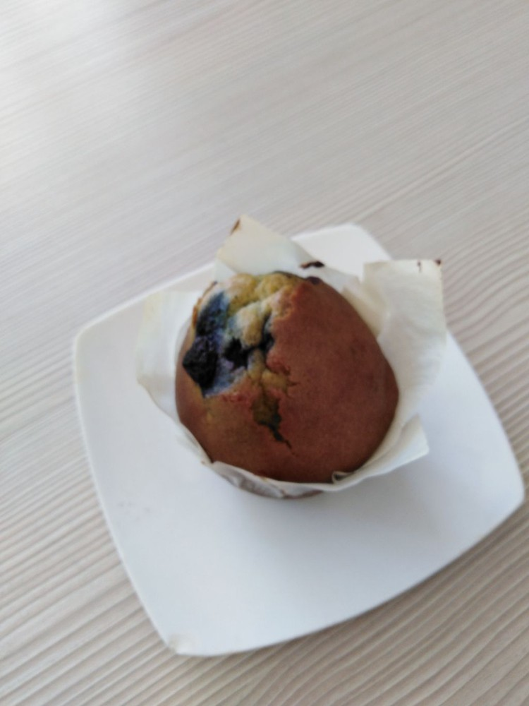 Muffins Arandanos, Libre de Gluten individual 150 grs aprox