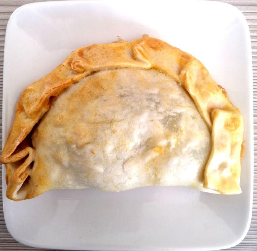 Empanada espinaca-queso, Libre de Gluten individual 200 gramos aprox
