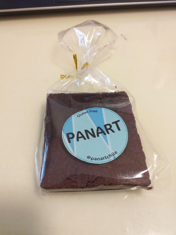Brownie, Libre de Gluten individual 100 gramos