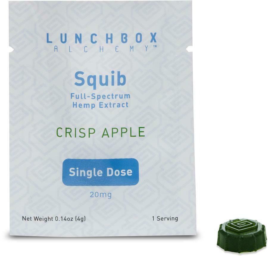 Lunchbox alchemy squibs single serving