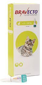 Bravecto para gato 1.2 a 2.8 kg