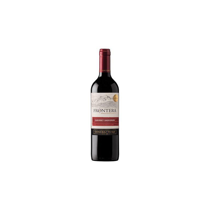 Vino frontera cabernet sauvigñon botella 750 ml