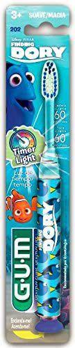 Escova dental infantil time light Dory