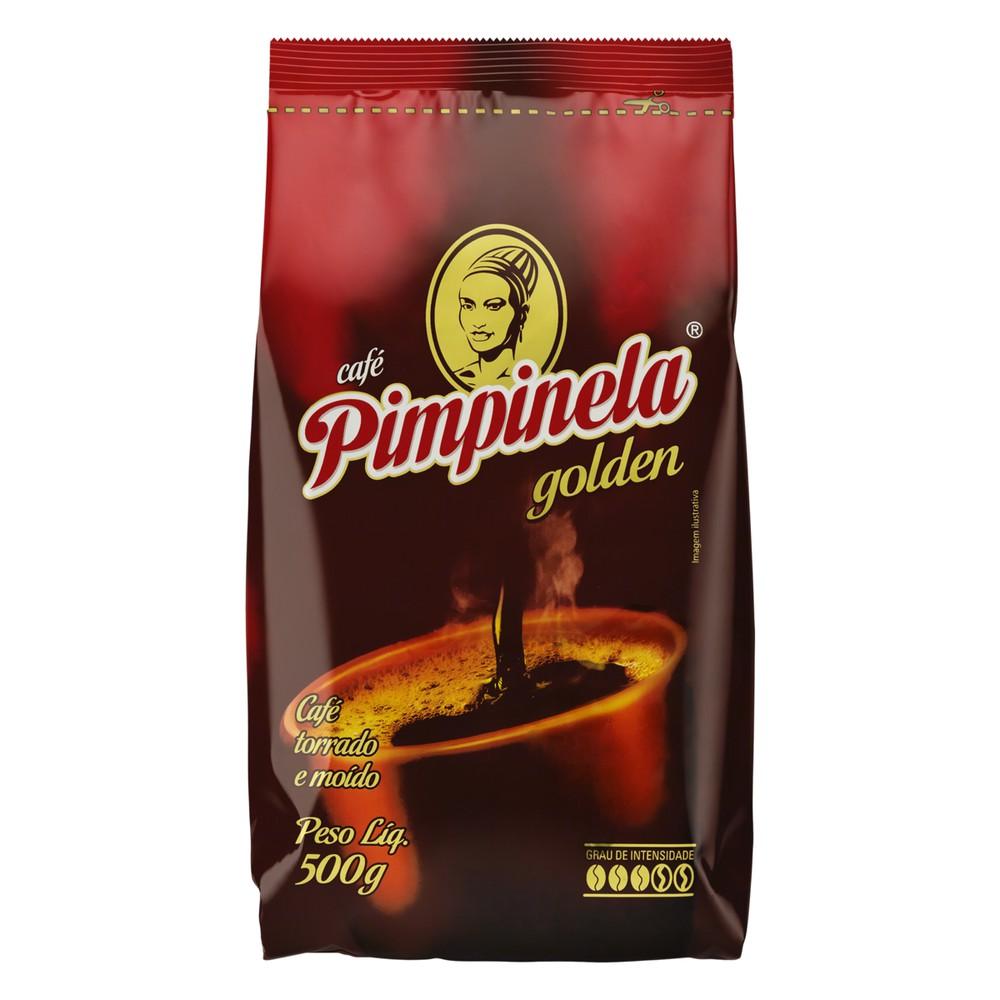 Café torrado e moído golden