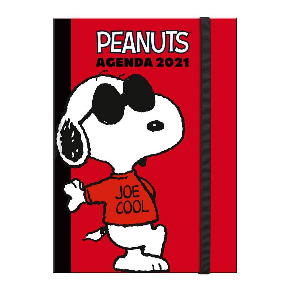 Agenda Snoopy Mini 2021 10×14 cms.