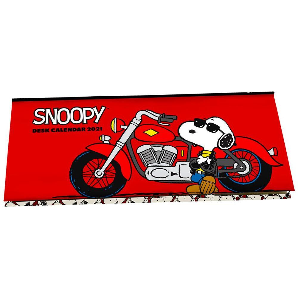 Calendario Snoopy 2021