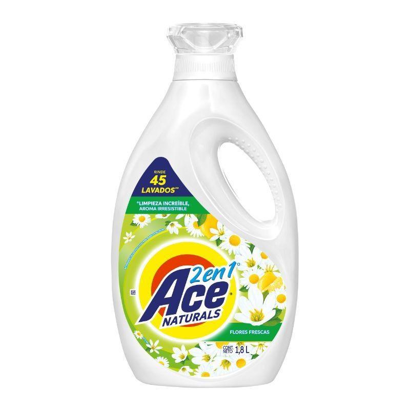 Detergente líquido flores frescas