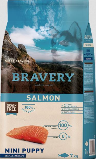 Puppy salmon