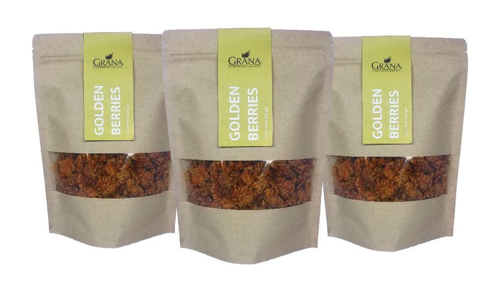 Pack goldenberries 3 bolsas de 150 grs cada una