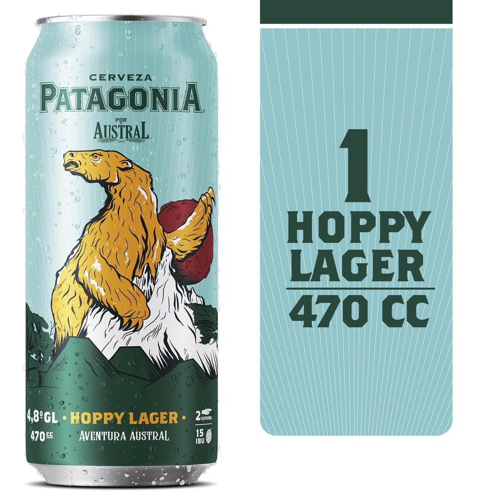Cerveza Patagonia Hoppy Lager