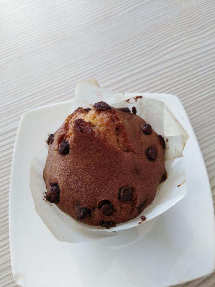 Muffins chocolate chips, Libre de Gluten individual 150 gramoss