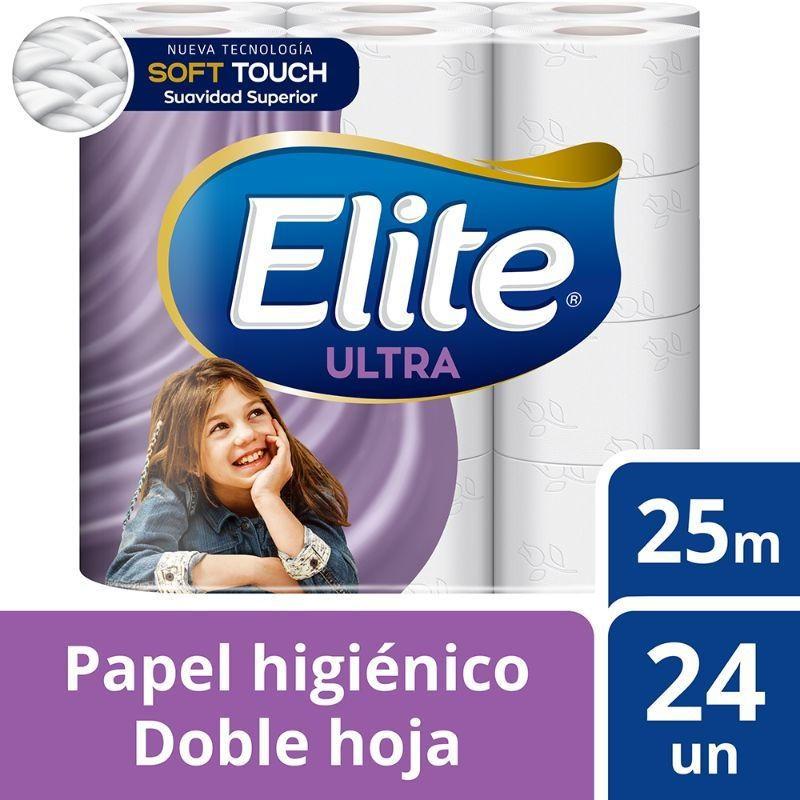 Papel higiénico ultra doble hoja