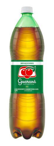 Refrigerante de guaraná zero açúcar