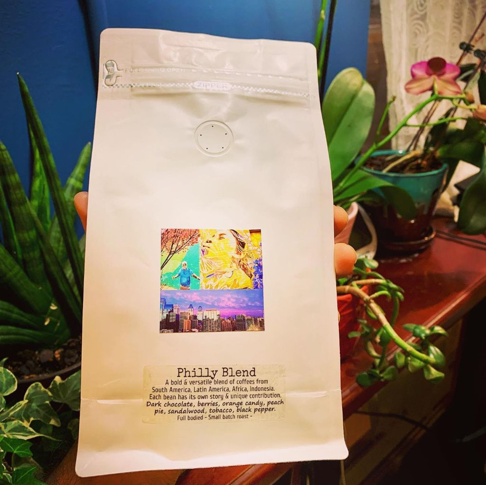 Philly blend - whole bean 10 OZ
