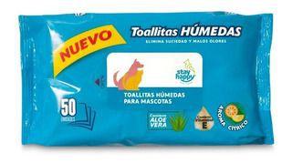Toallitas húmedas para mascotas