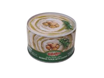 Hummus con zahatar 400 gr