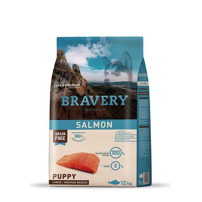 Alimento salmón puppy large/medium breed
