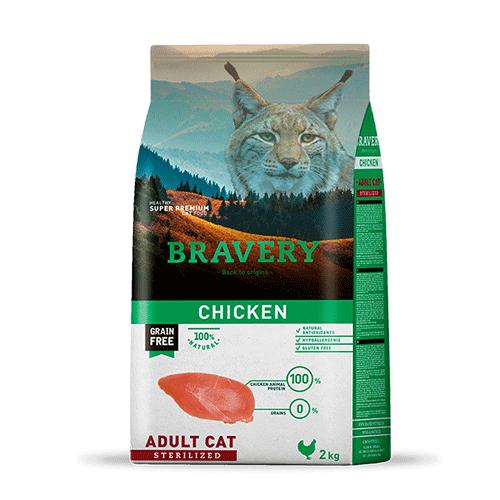 Alimento sabor Pollo para gato adulto esterilizado