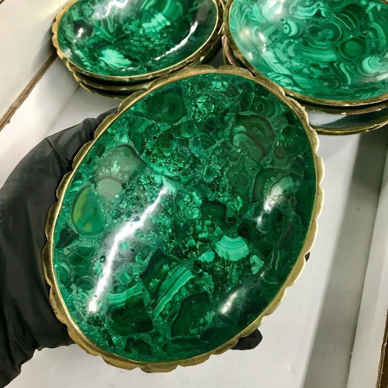 Malachite Altar Bowl