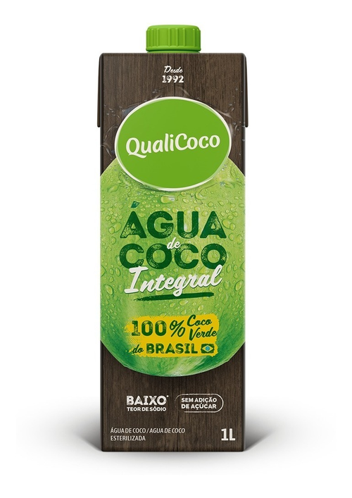 Água de coco integral