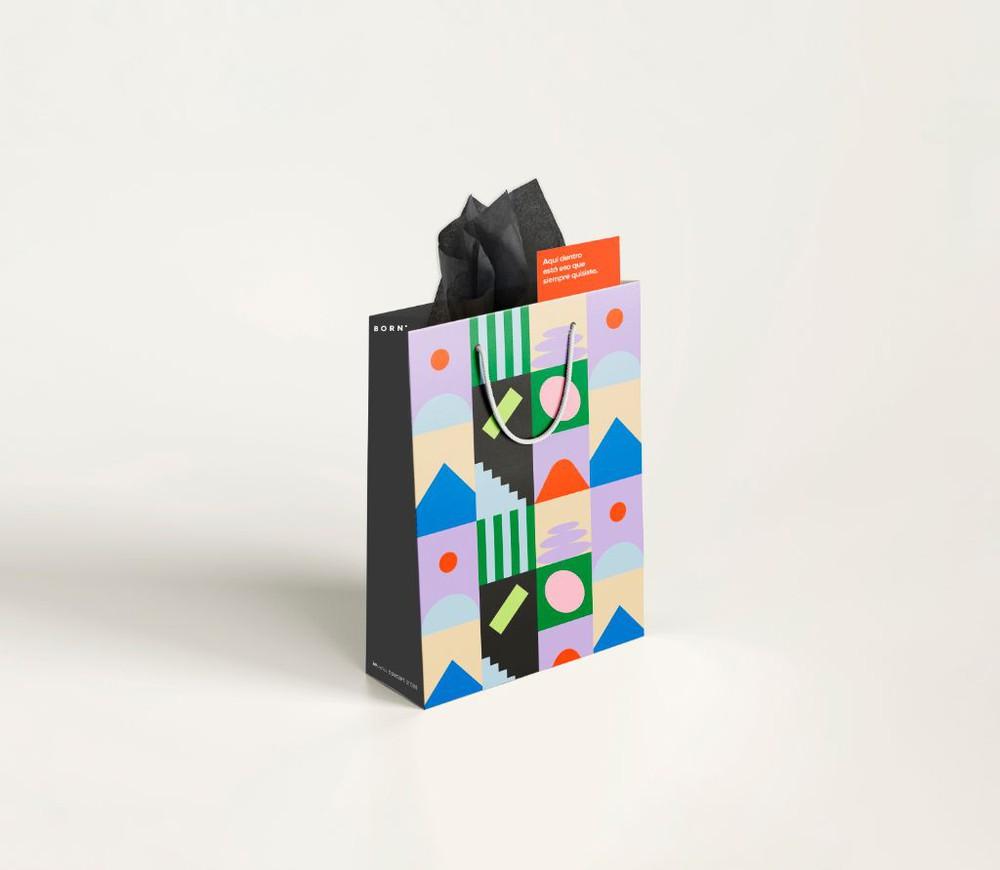 Envoltorio para regalo grande Bolsa 30 x 40 cms
