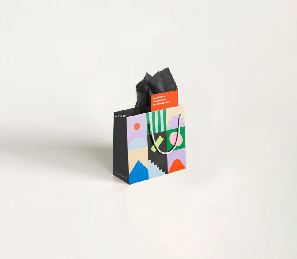 Envoltorio para regalo bolsa pequeña Bolsa 20 x 20 cms