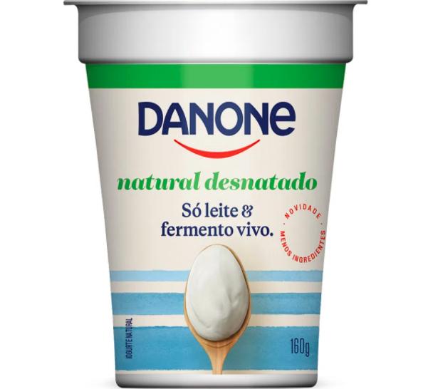 Iogurte natural desnatado
