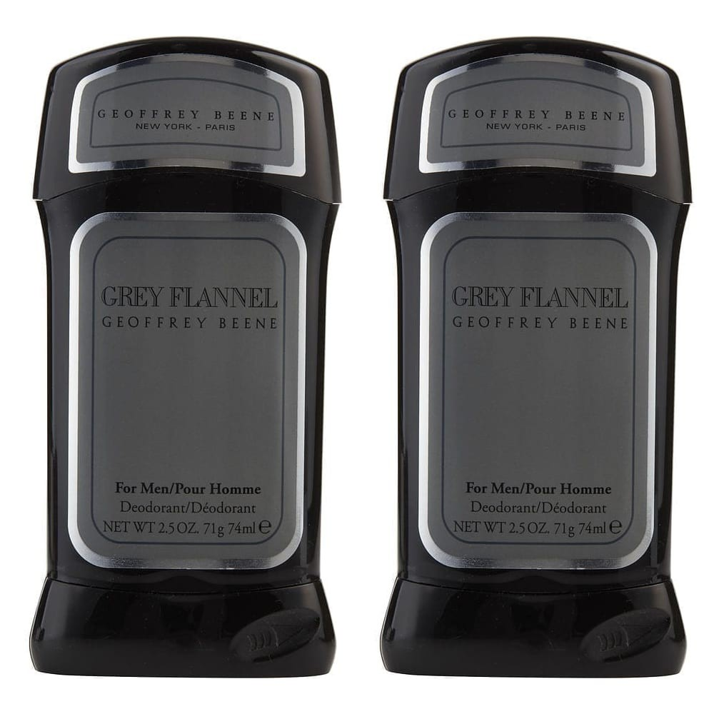 Grey flannel for men - deodorant stick (2 pack)