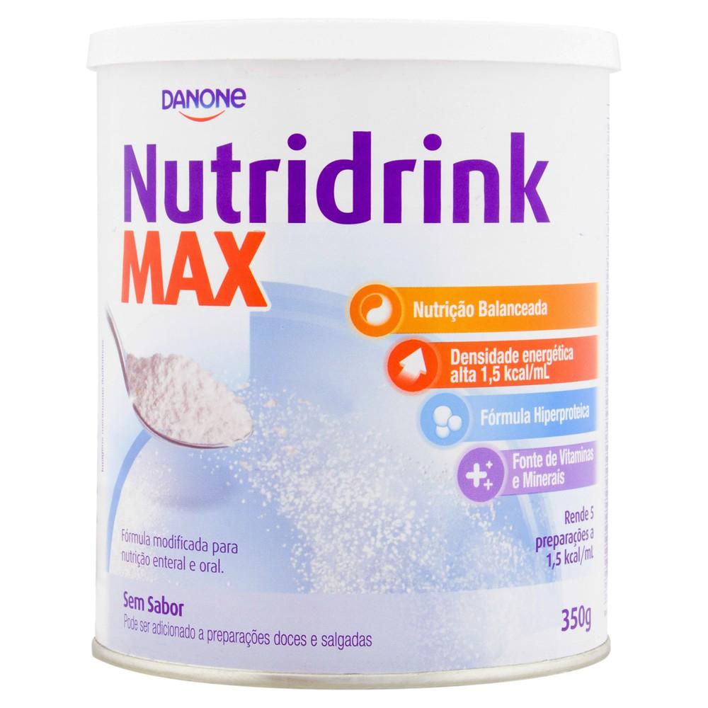 Suplemento alimentar Nutridrink Max sem sabor