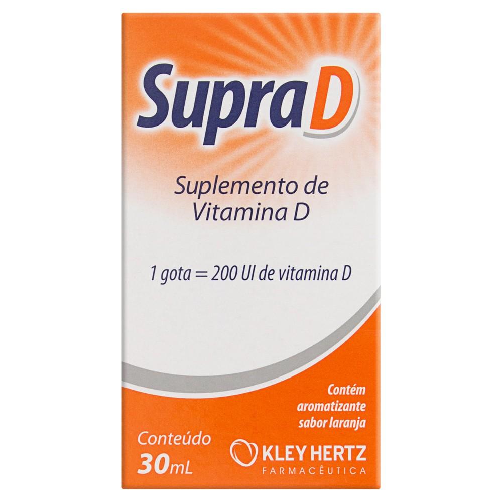 Suplemento de vitamina D Supra D