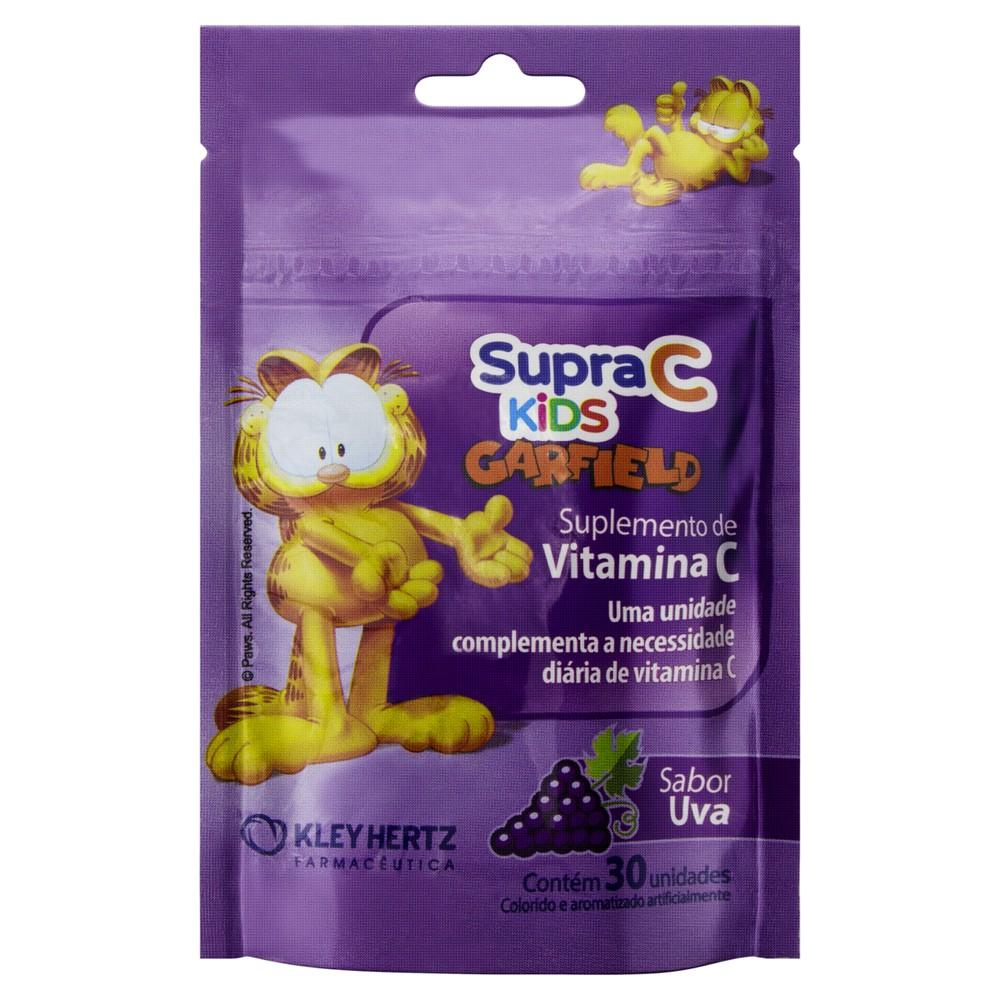 Suplemento vitamina C Kids sabor uva