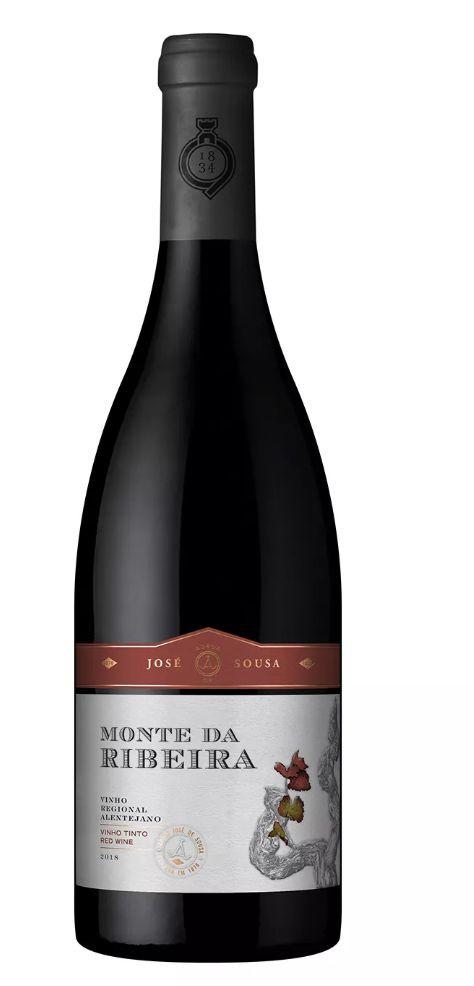 Vinho tinto português Monte Ribeira Alentejo