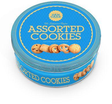 Biscoito amangeitado Danish cookies wopping