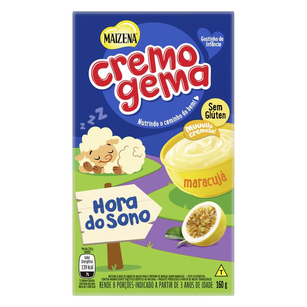 Mingau Cremogema sabor maracujá