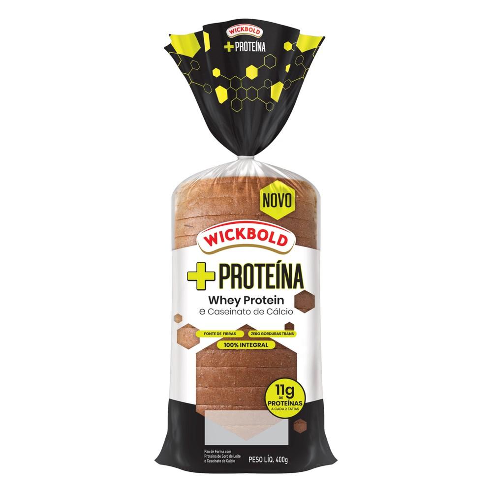 Pão de forma proteína