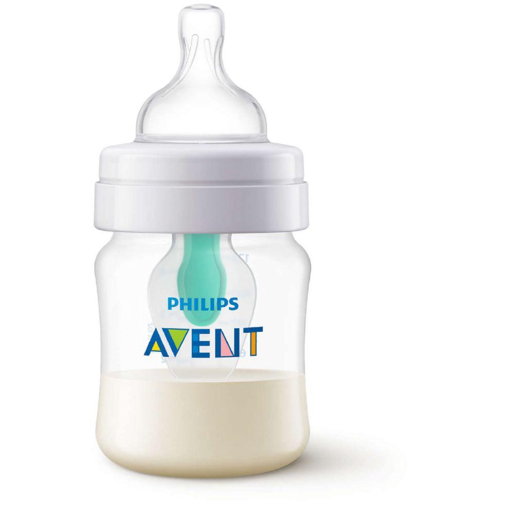 Mamadera anticólicos desde 0 meses de 125 ml airfree