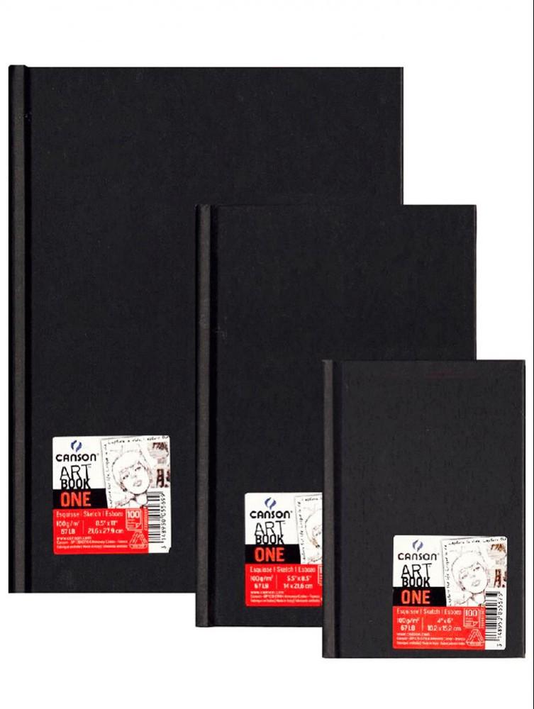 Libreta Art book one papel 100 gr