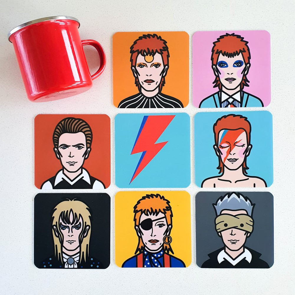 Posavasos Bowie 8 un